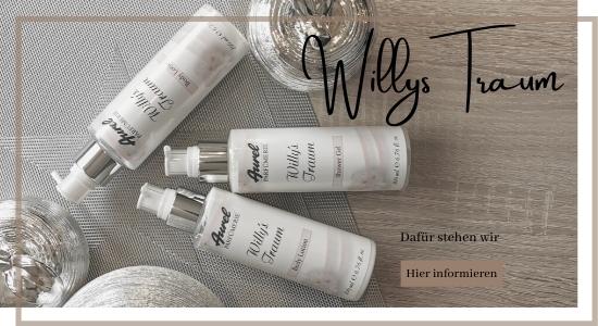 Willys Traum Eigenmarke - Parfümerie Aurel Atta